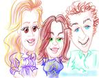 aacc caricatures tribecca