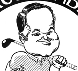 Rush Limbaugh caricature drawing