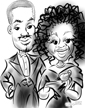 caricatures from photos new york