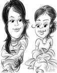 exotic caricatures nj BY DALE GLADSTONE