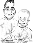 geeky caricatures princeton nj BY DALE GLADSTONE