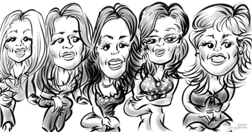 great caricatures ny BY DALE GLADSTONE