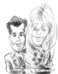 lap dance caricatures cherry hill new jersey