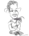 latina caricatures fellini ny BY DALE GLADSTONE