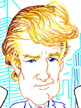 This caricature of Donald Trump  was done entirely in Alias Sketchbook on a tablet PC from start to finish.