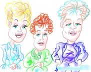 red caricatures new york scarsdale