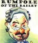 Rumpole of the Bailey caricature