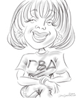 sorority caricature frostburg md BY DALE GLADSTONE